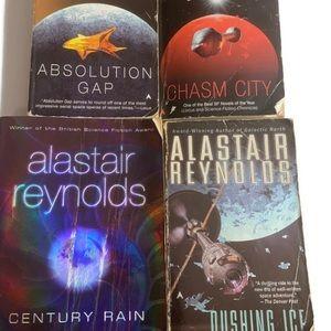 Lot of 4 Alastair paperback science fiction novels